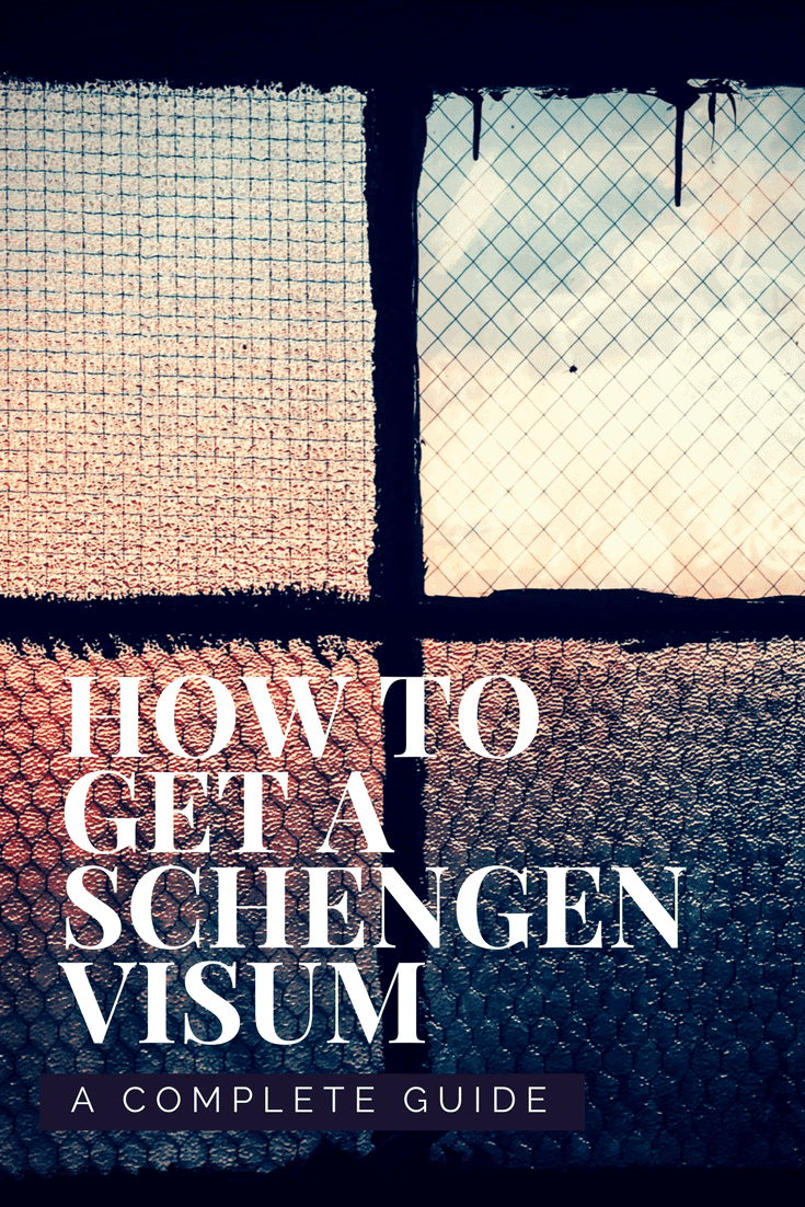 Schengen Visum - Complete Guide - Only Once Today