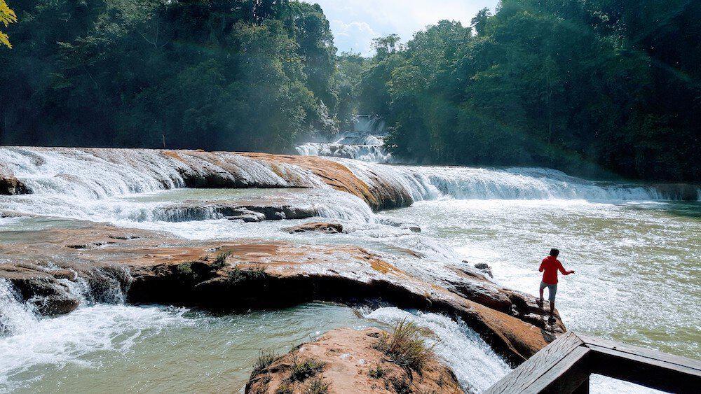Agua Azul - Tourist Trap - An unexpected roadblock