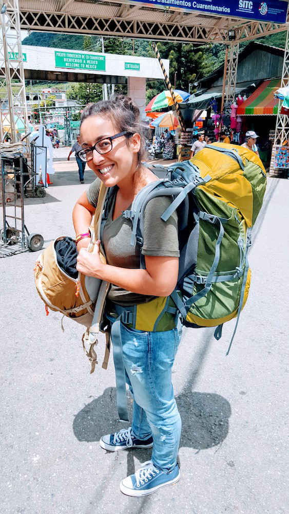 At the Border Crossing - La Mesilla Guatemala
