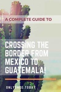 border mexico guatemala