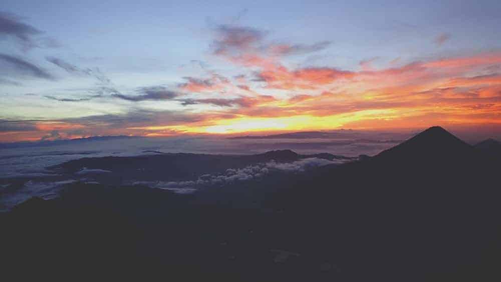 Acatenango hike Summit