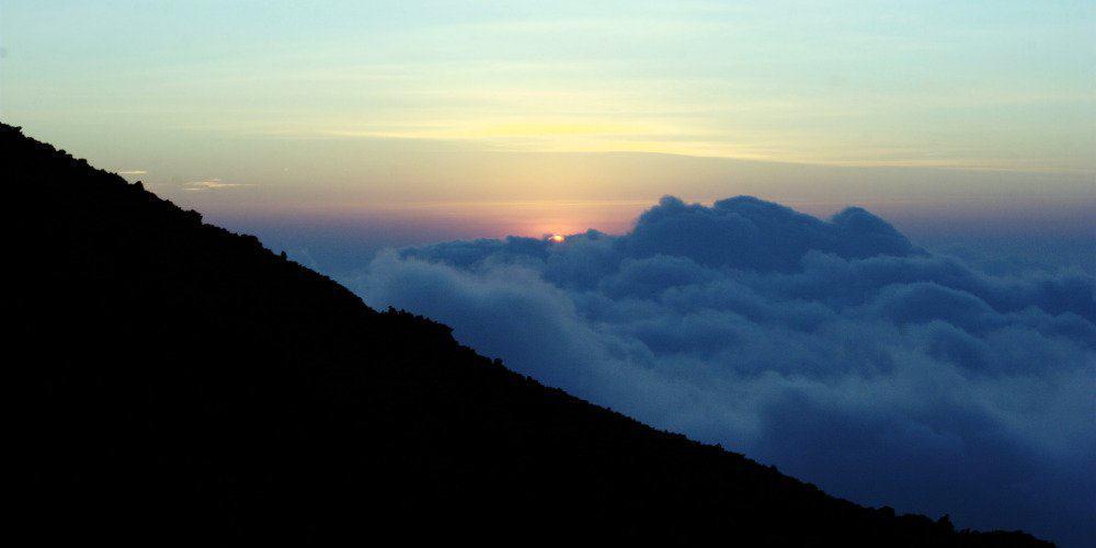 Antigua Volcano View