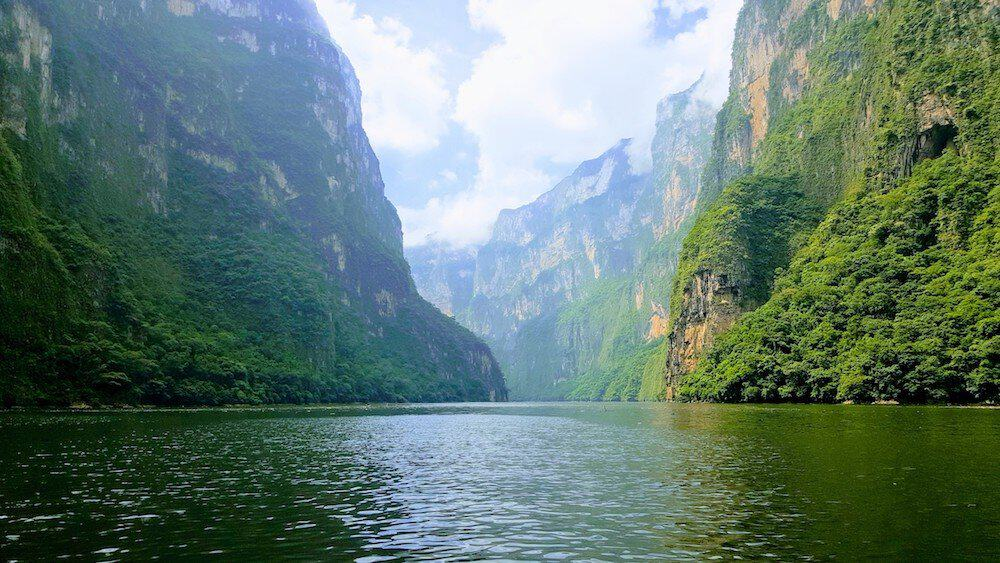 Backpacking Mexico Sumidero Canyon - Mexico Itinerary - Only Once Today