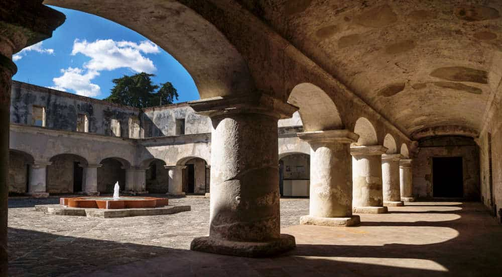 Capuchins Monastery in Antigua Guatemala