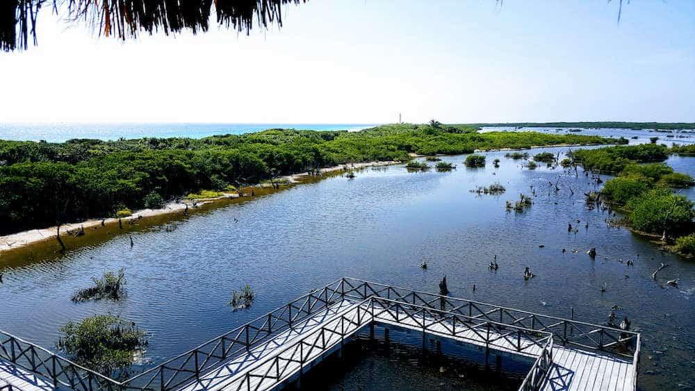Cozumel watchtower Punta Sur