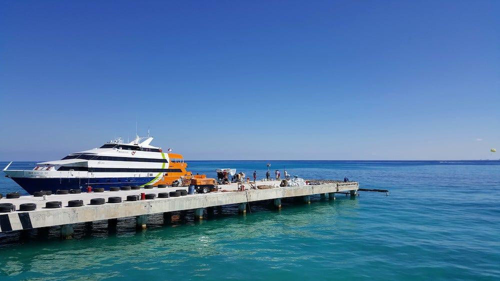 Cozumel Ferry - Cozumel Excursions on your own - Mexico - Only Once Today