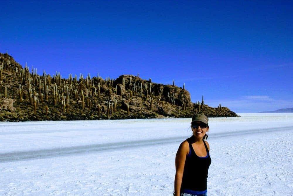 Isla del Pescado - Uyuni Salt Flats