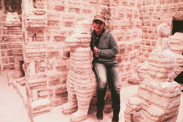 Salt Museum on the Uyuni Salt Flats - Finding a long lost friend