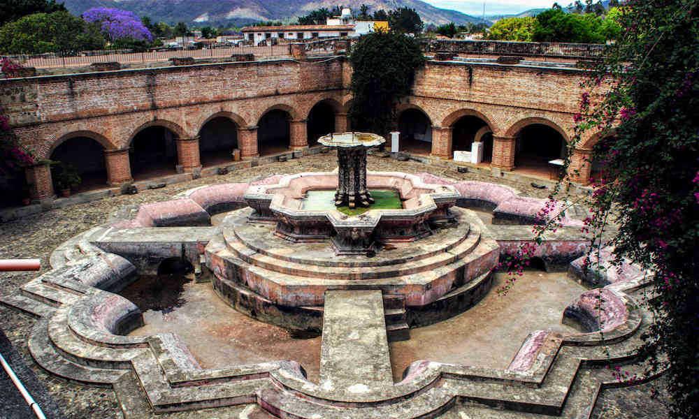 Fountain La Merced Antigua Guatemala