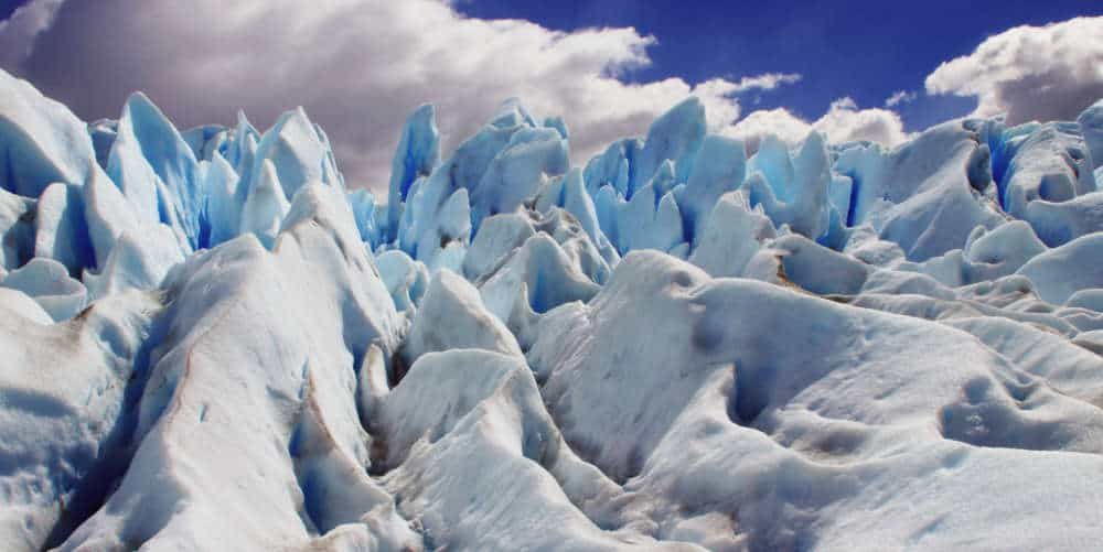 Views on the glacier while doing the Mini Trekking on Perito Moreno
