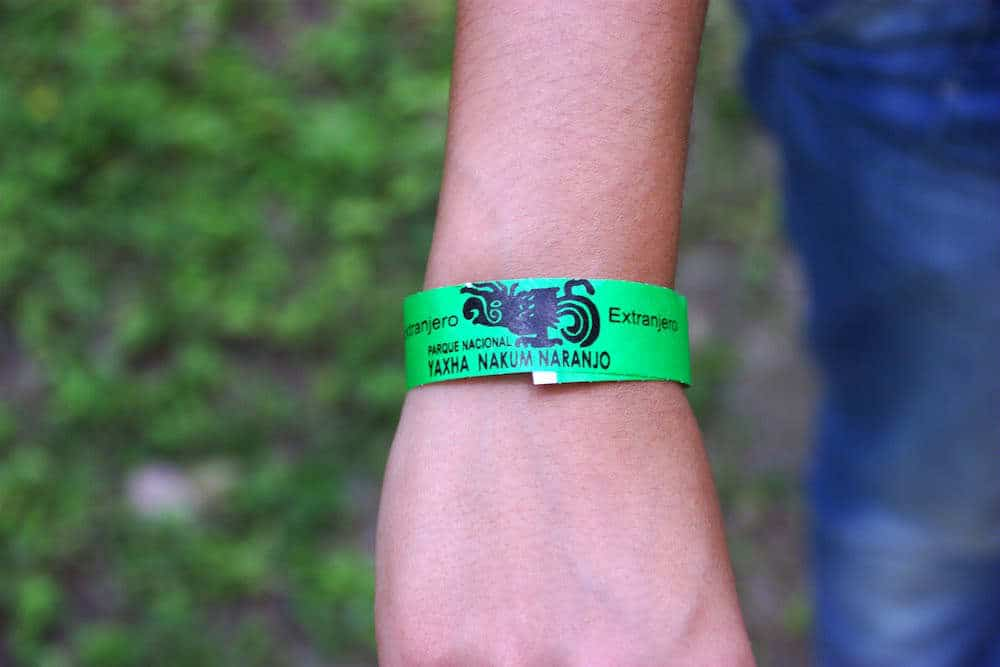 Yaxha Wrist band for foreigners