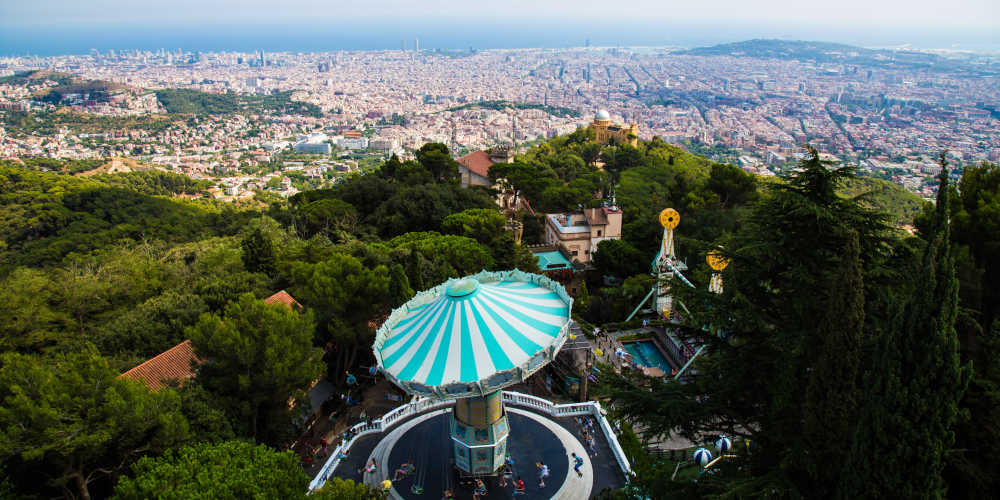 Barcelona Spain train itinerary