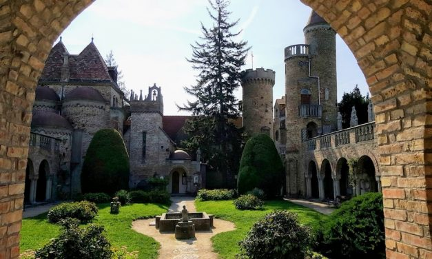 Bory Castle – Fairytale castle in a daytrip from Budapest