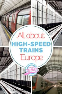 High-speed trains in Europe