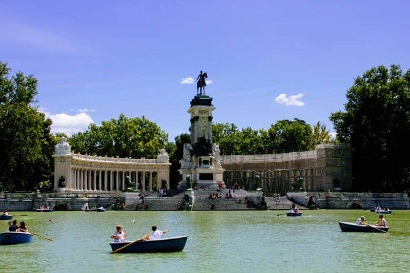 Madrid - Spain by rail in 12 days