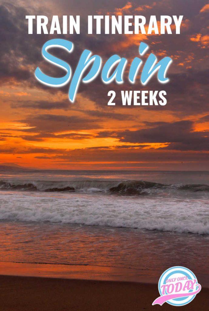 Spain by rail in 2 weeks