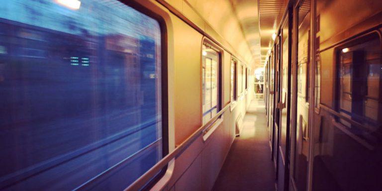 Train travel Europe