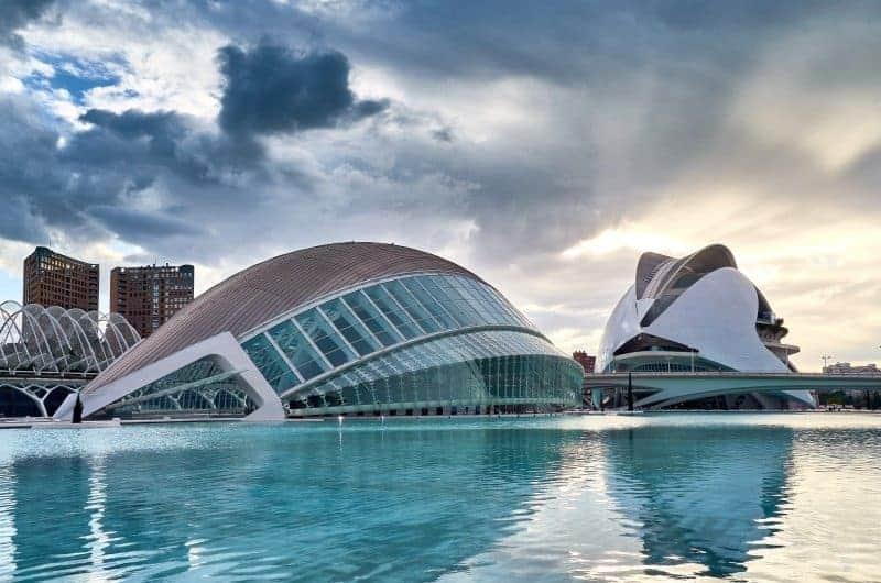 Valencia - Ciudad de las artes y Sciencias