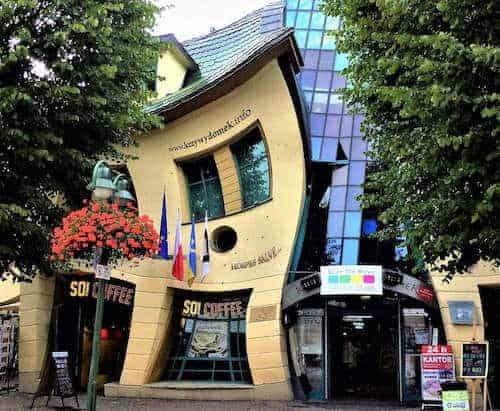 3 days in Gdansk - Sopot Crooked House