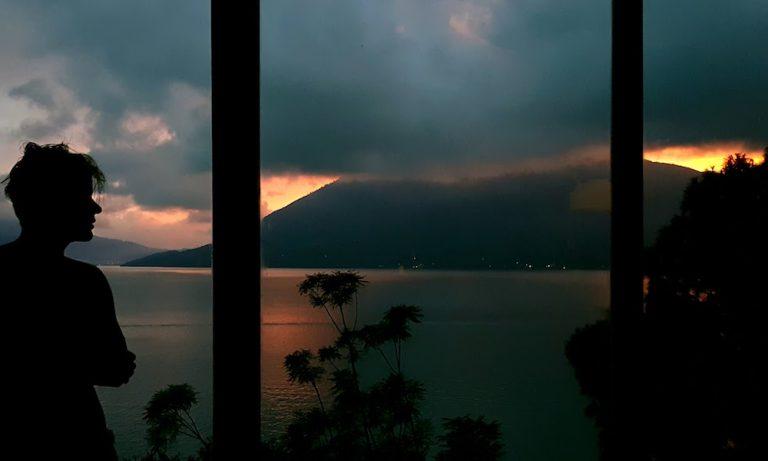 Sunset at Lake Atitlan