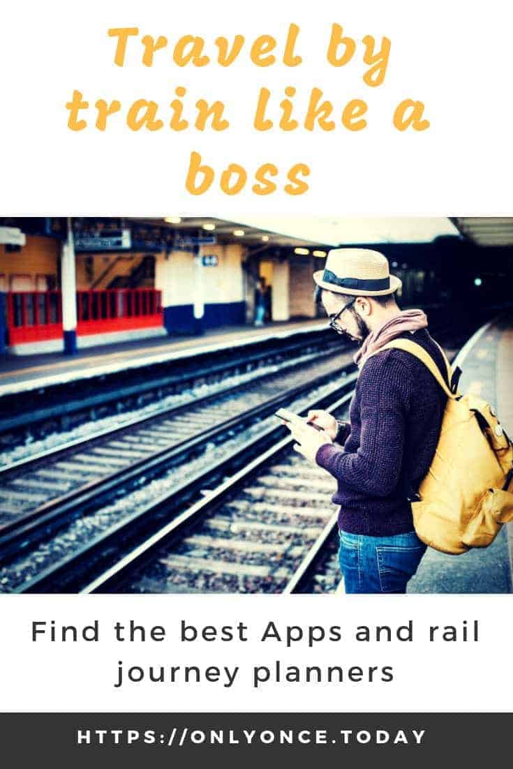 Best Train booking apps and Rail Planners for Europe