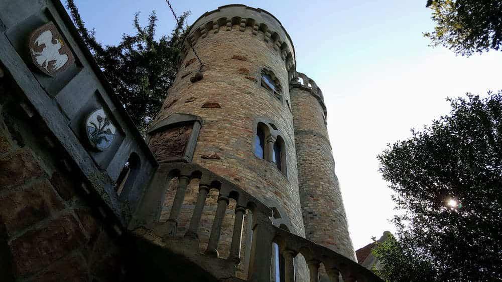 Castle Tower at Bory Castle