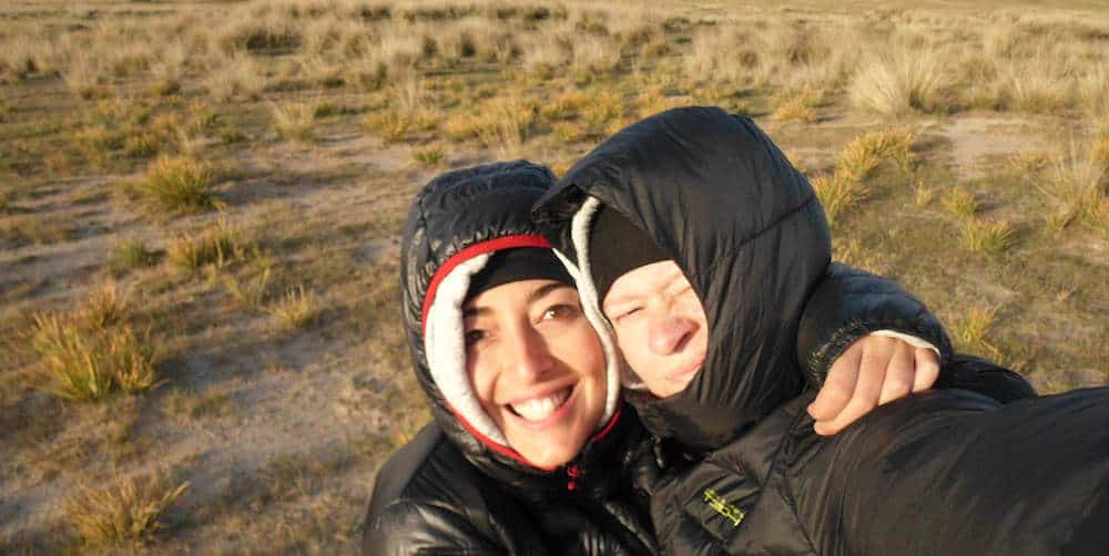 Us at the Grasslands of Inner Mongolia