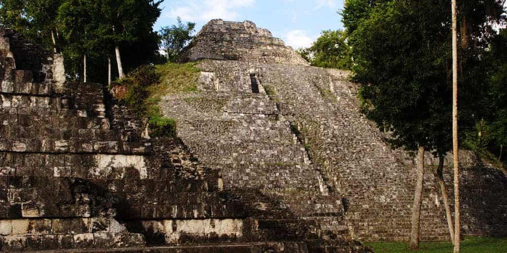 Yaxha Ruins in Northern Guatemala