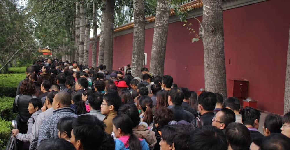 China Waiting Line - Things to know before visiting China