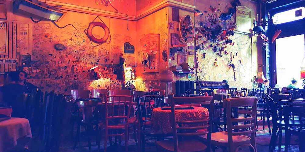 Csendes Ruin Bar Budapest