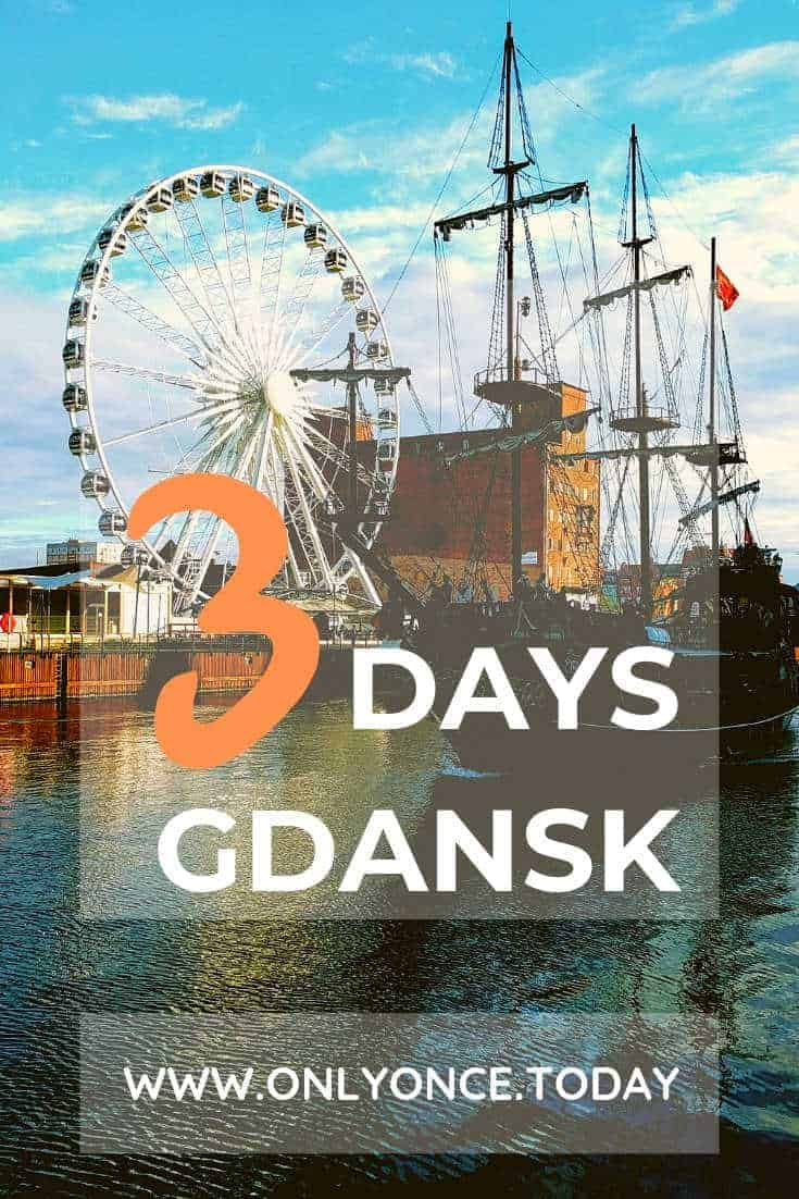 3 Days in Gdansk – Gdansk in Northern Poland is an amazing city for a midweek break in Europe. The old town is very captivating and the beach is only 15 minutes away. It has always been an important city throughout history and it still is. #Gdansk #Poland #Europe #Midweekbreaks