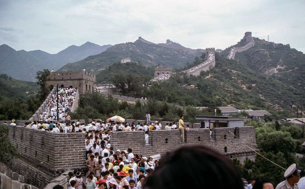 Great Wall Crowds - Visiting China for the First Time
