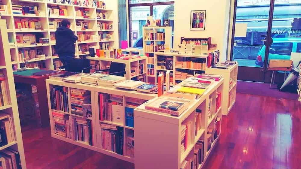 Librairie Vigna - Feministe en lesbische boekenwinkel in Nice France