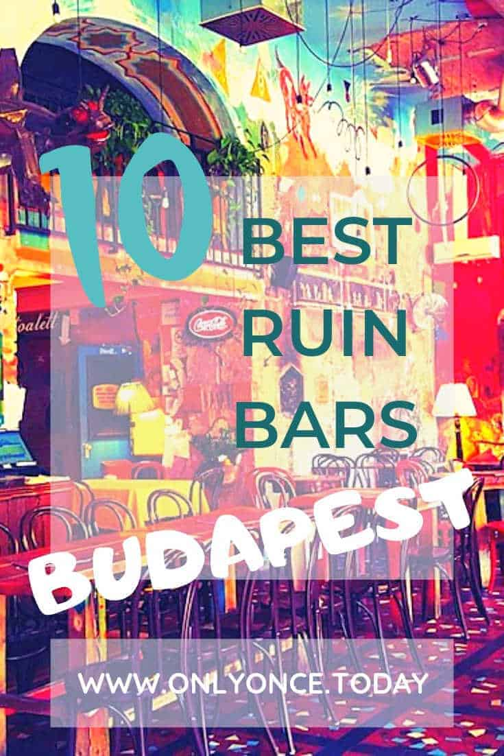 10 Best Ruin Bars in Budapest – Find unique ruin pubs in Hungary -  Ruin bars and ruin pubs are the next best thing and they're taking over the capital of Hungary, Budapest. Some ruin bars in Budapest are simply beautiful. Can we call it beautiful decay? #RuinBar #RuinPub #Hungary #Budapest