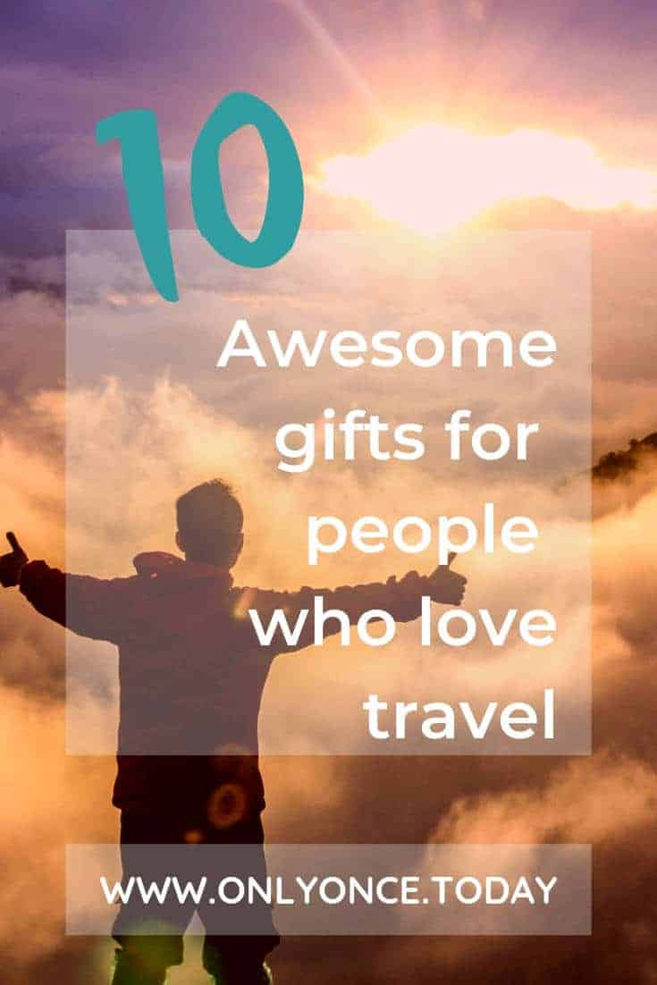 10 cool travel inspired gifts for people who love to travel