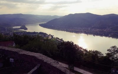 Visegrad Castle - View over the Danube Bend