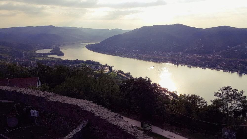 Visegrad Castle at the Danube Bend – Look out over the mighty Danube