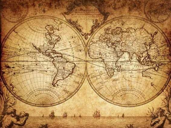 Wereldkaart op Canvas - Cadeaus voor Reizigers