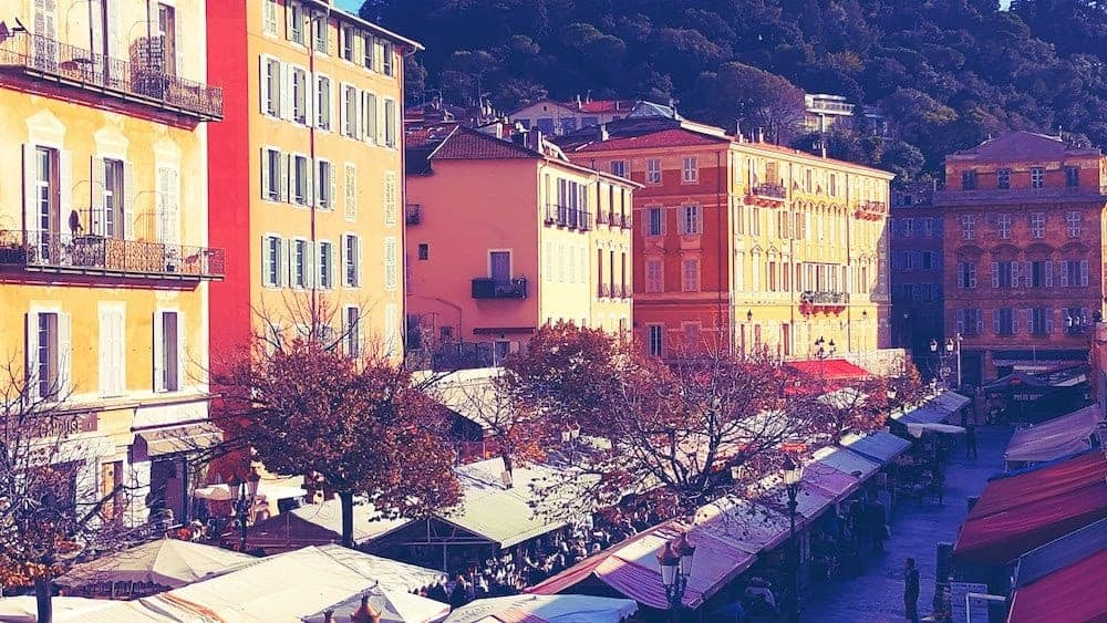Boerenmarkt - Stedentrip Nice Frankrijk