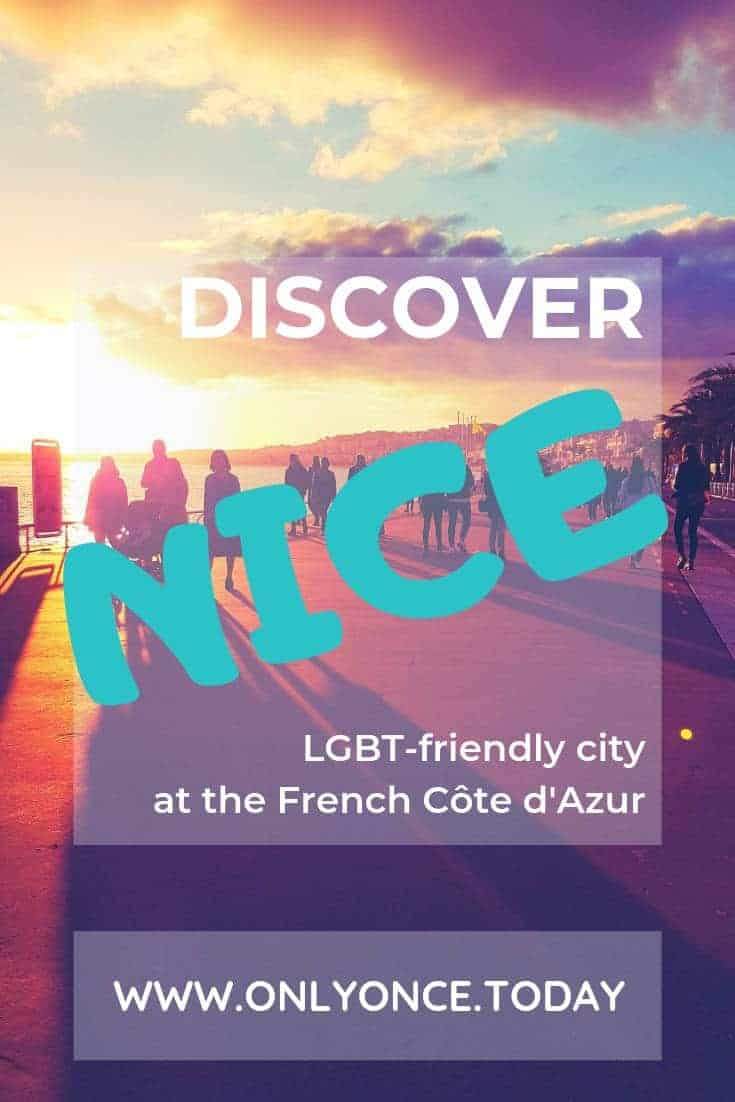 3 Days in Nice France – LGBT travel guide We spent 3 days in beautiful and tropical Nice, France to gather as much information for lesbian travelers as possible. It is also a travel guide for everyone who wants to discover the best spots in Nice. #Nice #Nicemoments #Côte d'Azur #lesbianguideNice #Europe