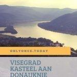 Visegrad kasteel aan de Donauknie in Hongarije