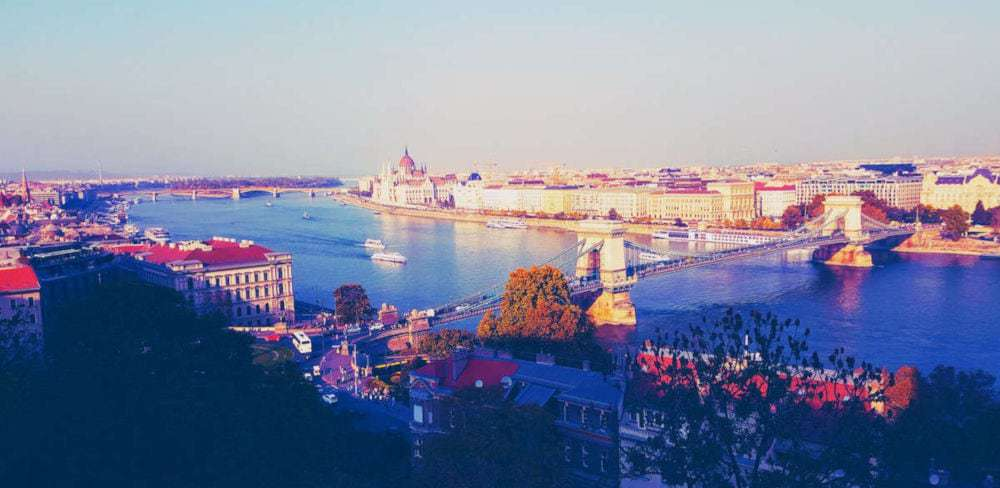 Budapest View from Buda Castle