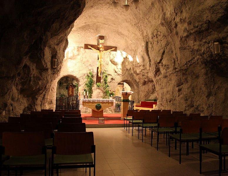 Cave Church Gellert Hill Budapest