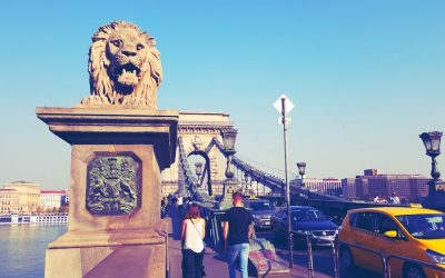 Chain Bridge - Budapest Sightseeing - 23 Cool Things to do in Budapest