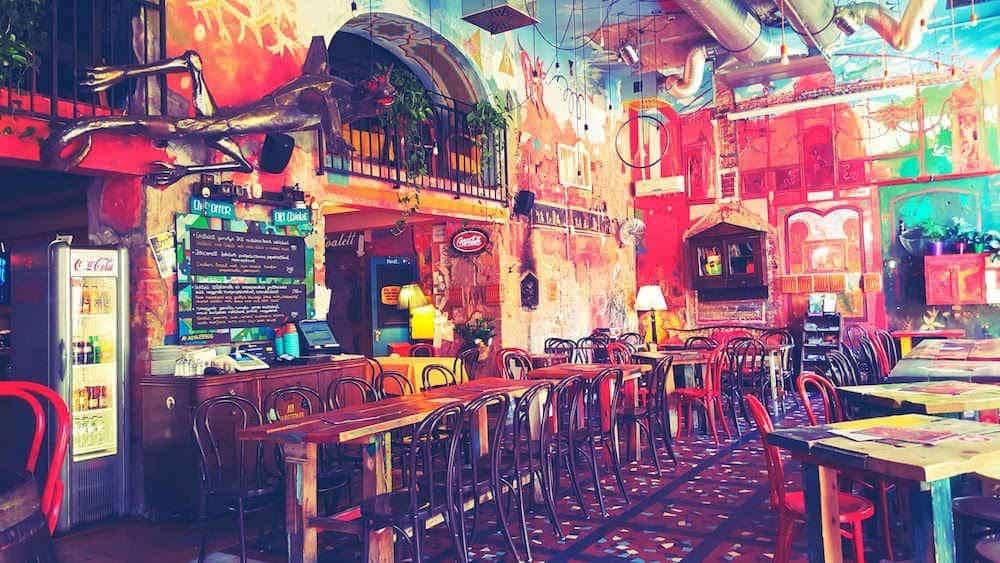 Puder Ruin Bar in Budapest