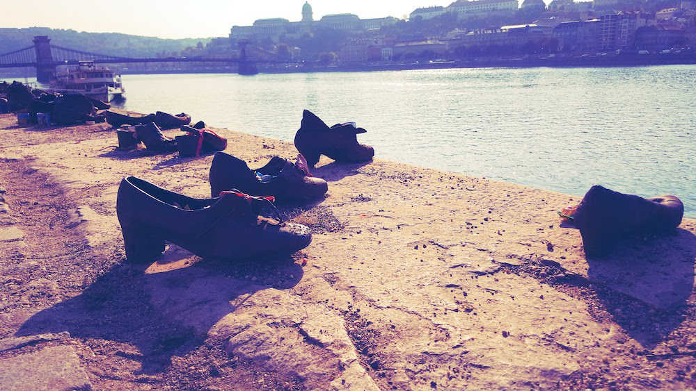 Shoes At The Danube Budapest