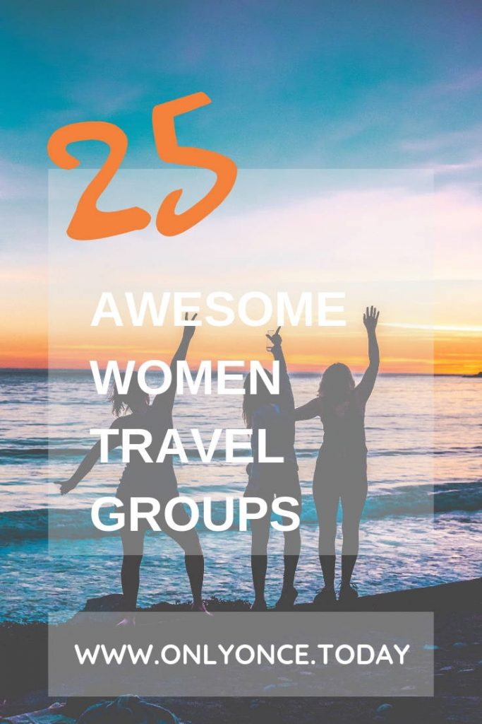 25 Women Travel Groups