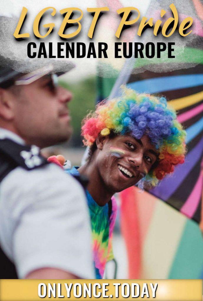 Summer of Pride 2019 - LGBT Pride Calendar Europe