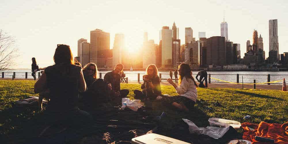 Women travel groups