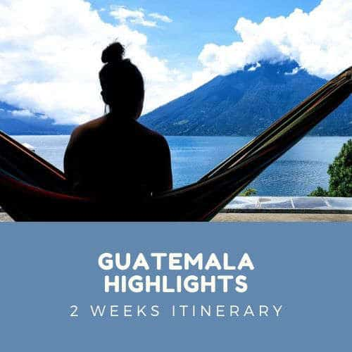 Guatemala Highlights Itinerary